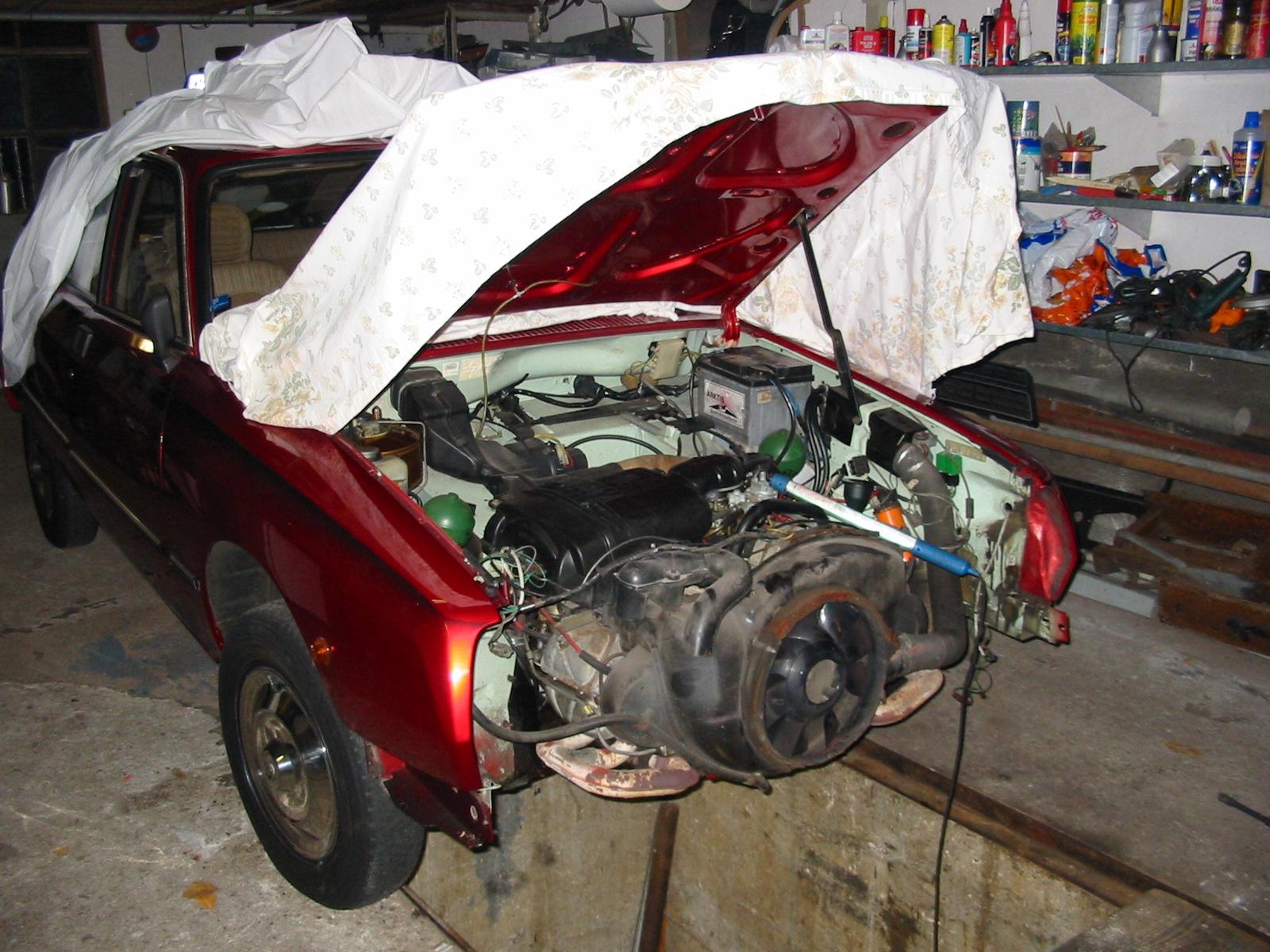 Abdichten Motor GSA