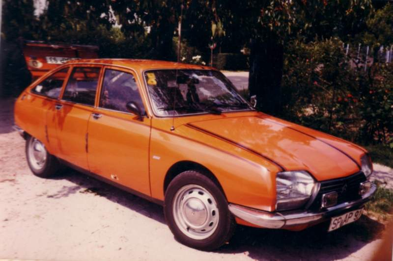 1 Citroen GS X Bj. 1976