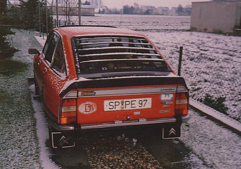 2 Citroen GS Club Bj. 1978