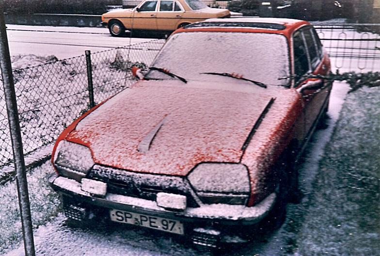 3 Citroen GS Club Bj. 1978