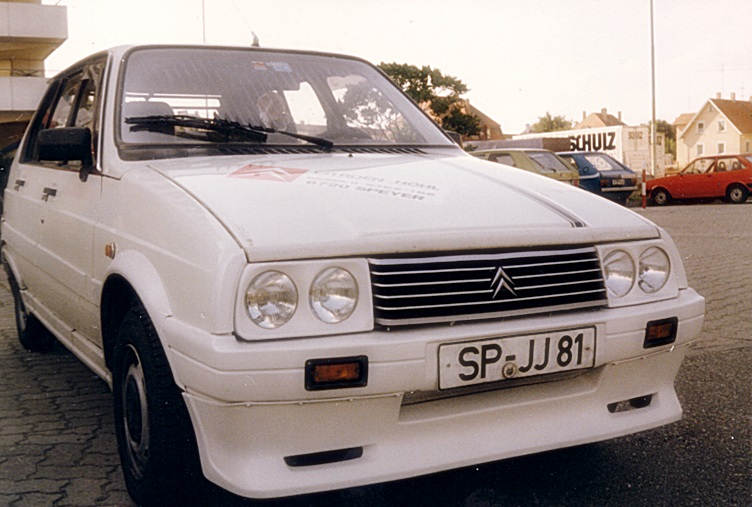 4 Citroen VISA 17 RD, Bj. 1985