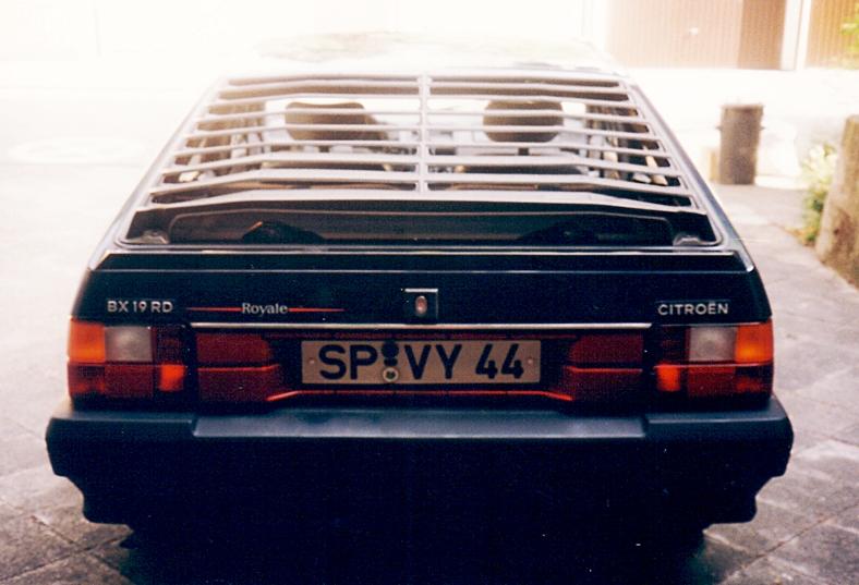 8.2 Citroen BX  19 RD,  ROYALE  Bj. 1987