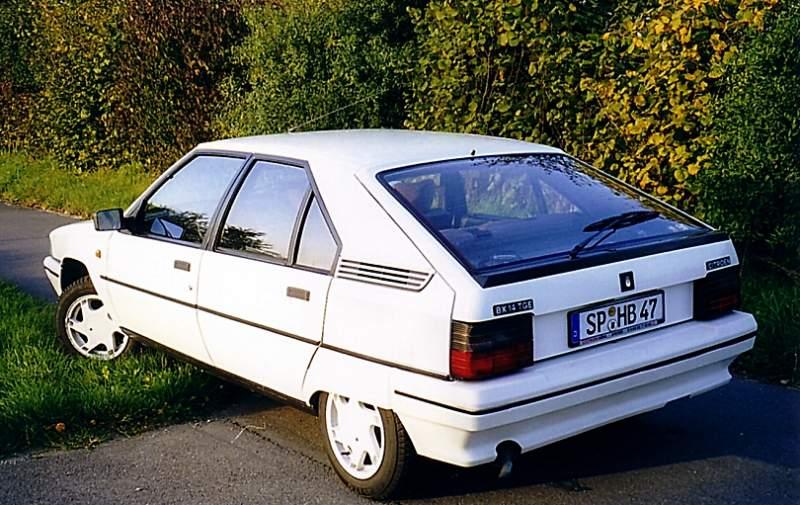 9.2 Citroen BX  14 TGE, Bj. 1992
