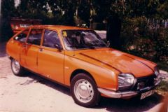 1 Citroen GS X Bj. 1976