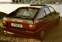 6 Citroen BX  14 RE,   RUBIN   No. 999, Bj. 1989