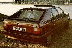 6 Citroen BX  14 RE,   RUBIN   No. 999, Bj. 1989
