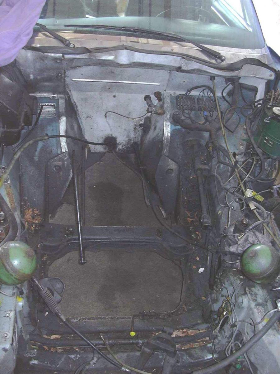 Motor raus