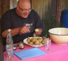 die Vorfreude ist doch die schönste Freude,  auf den Kartoffelsalat