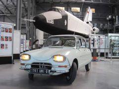 """Bild: Ausstellung """"La Ligne en Z - 50 Jahre Citroen Ami"""" im Technik-Museum Speyer"""