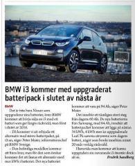 BMW i3 mit 34kWh Akku