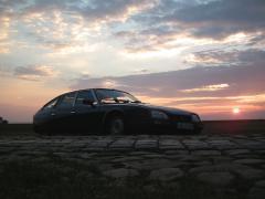 Citroen CX TRS bei Abendsonne