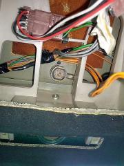 XM Antenne von unten