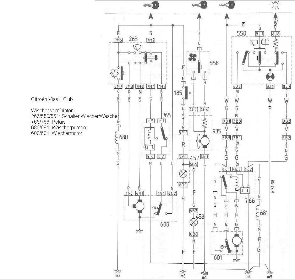 Großartig Corvette Schaltplan Scheibenwischer Galerie - Elektrische ...