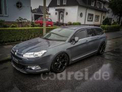 C5 III Tourer Exclusive im Regen