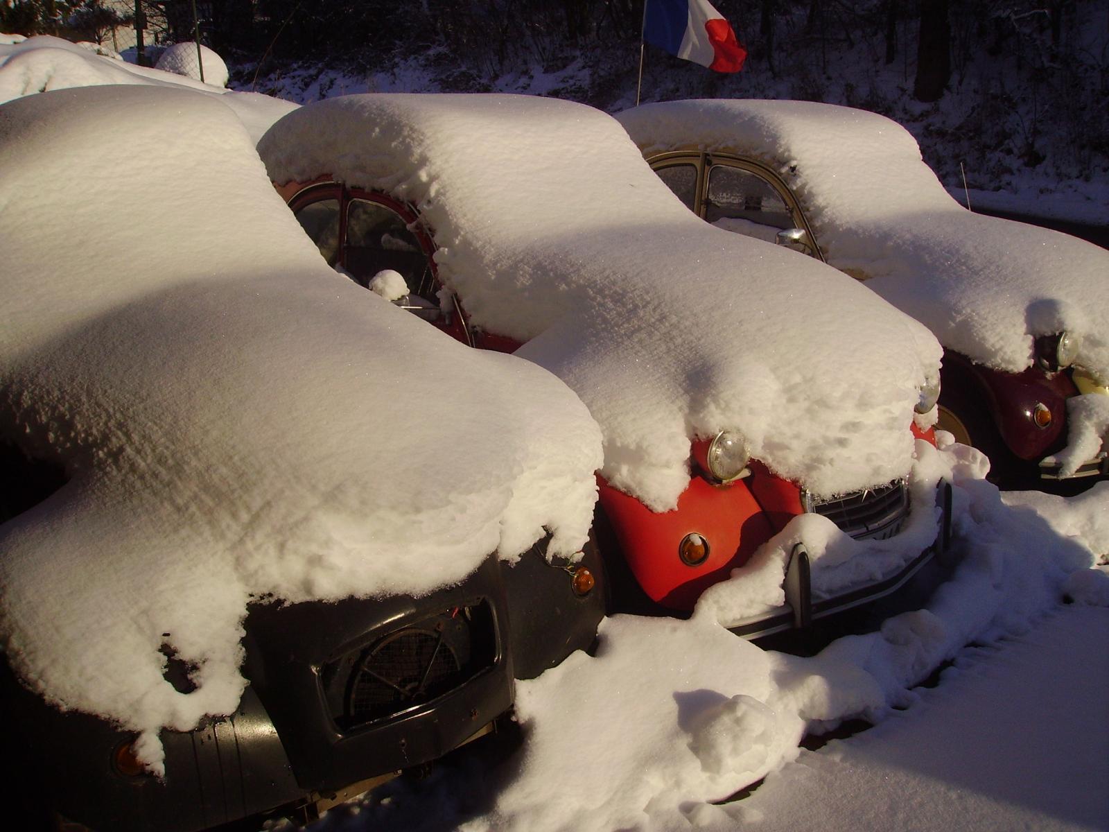 2CV Winter