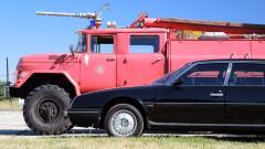 CX Prestige Turbo vs. Flughafenfeuerwehr