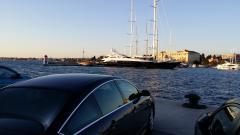C6 im Hafen von Zadar Kroatien