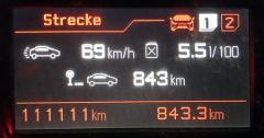 111111km HDi 180