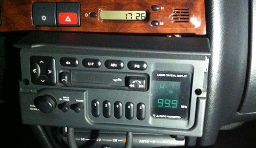 Citroen ZX Radio mit Code Audio System 1021 (1) geä.JPG