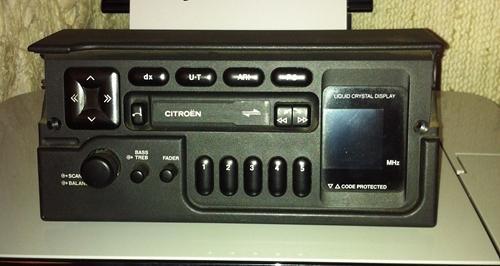 Citroen ZX Radio ohne Code Audio System 1021  (2) geä.JPG